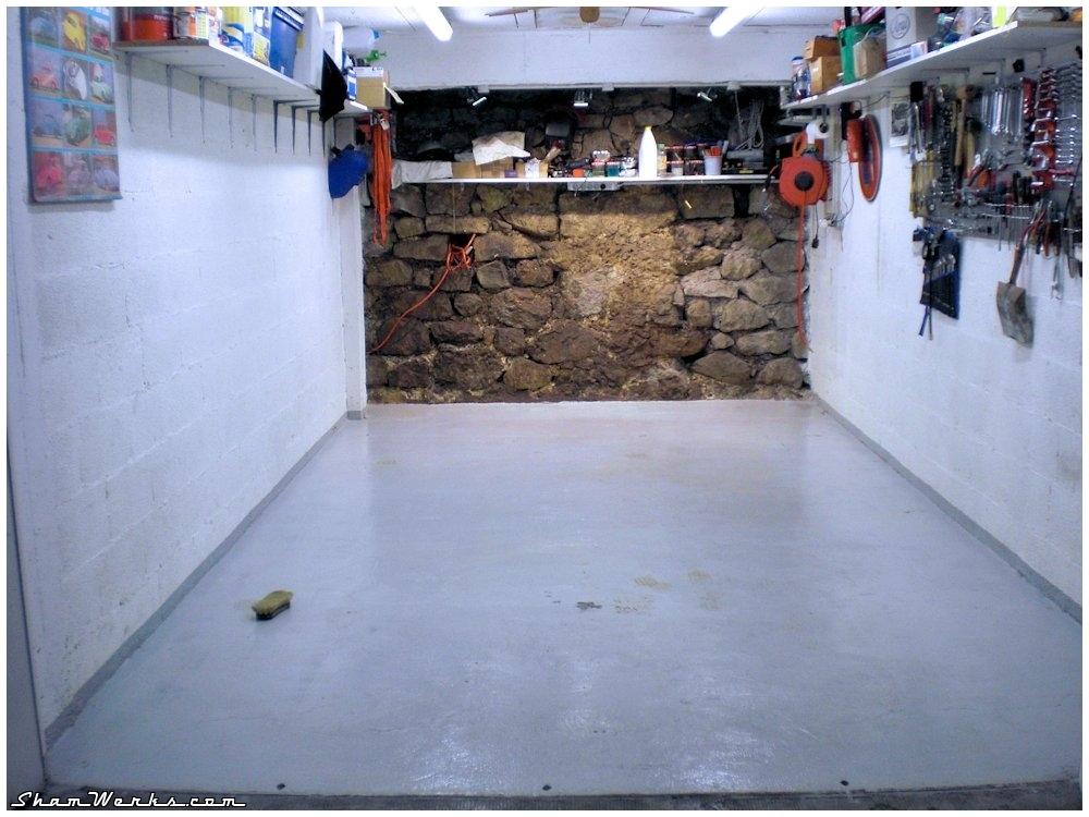 Shamwerks atelier atelier mise jour du sol for Carrelage pour sous sol