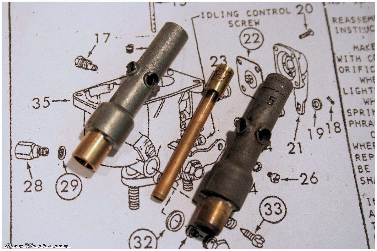 tube d'emulsion carburateur solex