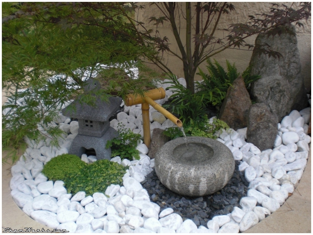 Shamwerks terrace project terrasse project jardin for Jardin zen miniature
