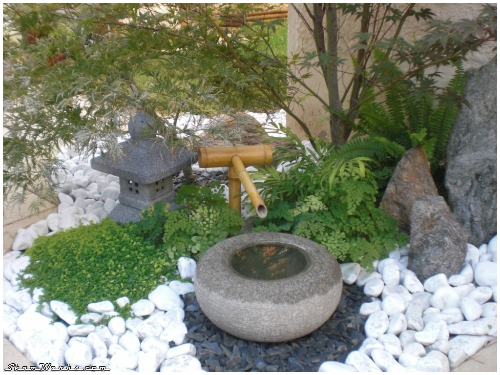 Cool Idee Deco Jardin Japonais Populair Pictures With Idee De Decoration De  Jardin Exterieur