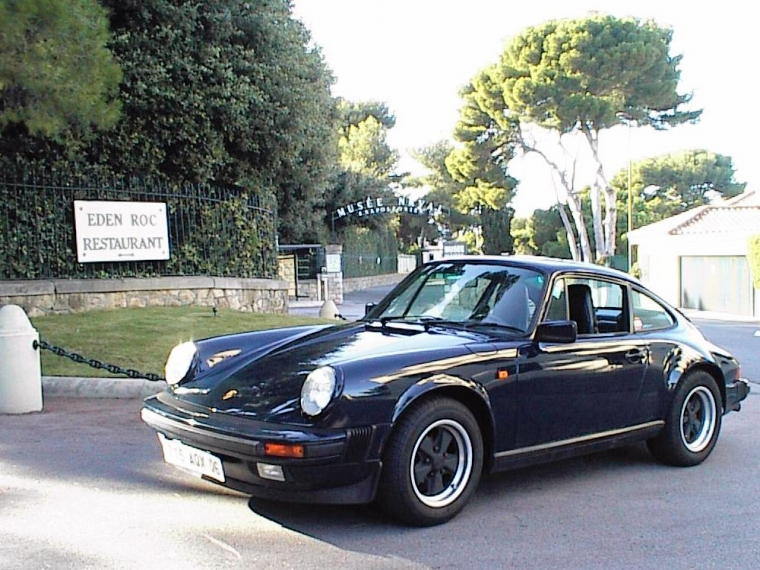 911 Carrera 3.2 3L2 Porsche 1986 dark blue