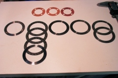 VW 36hp end play shims crankshaft