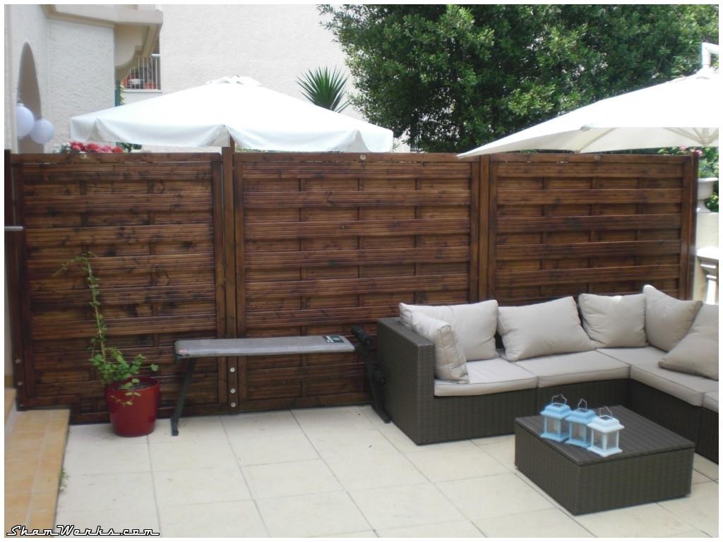 Shamwerks terrasse project terrasse project pare vue - Panneau de separation exterieur ...