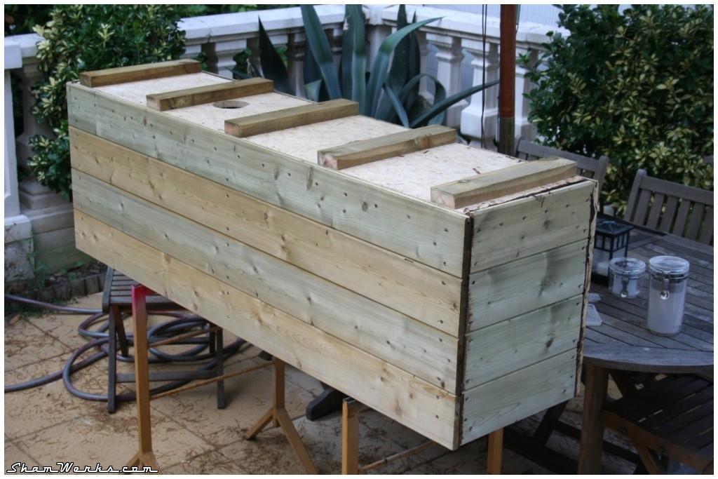 shamwerks terrasse project terrasse project bacs bambous. Black Bedroom Furniture Sets. Home Design Ideas