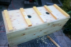 DIY bamboo containers wood plans